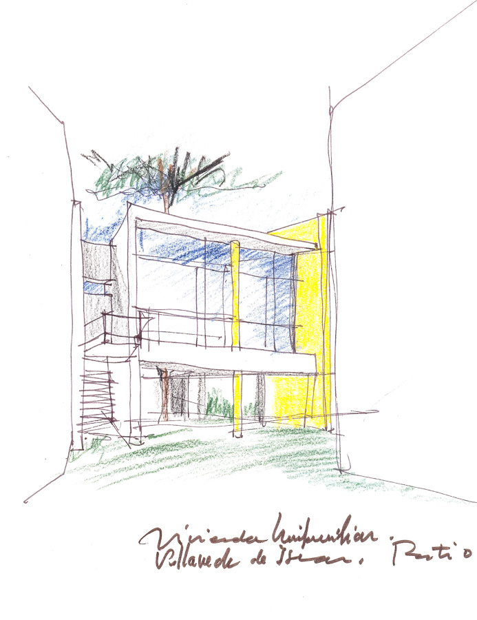 vivienda unifamiliar en viallaverde de iscar. patio.11.1991_r